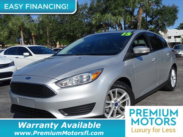 2015 FORD FOCUS 5DR HATCHBACK SE LOADED CERTIFIED WARRANTY Dont Pay Retail Get low monthly pa