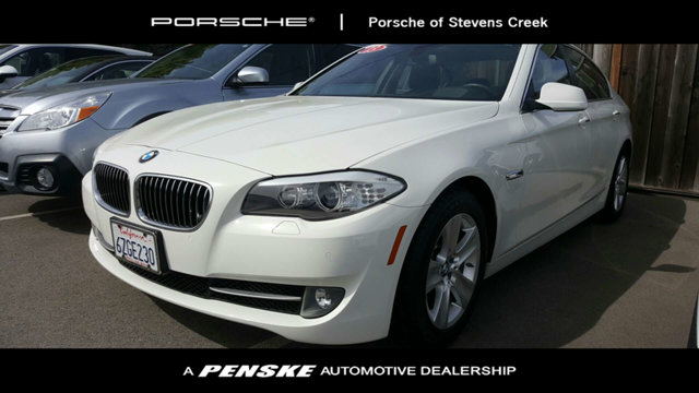 2013 BMW 5 SERIES 528I Clean CARFAX White 2013 BMW 5 Series 528i RWD 8-Speed Automatic 20L I4 Bl