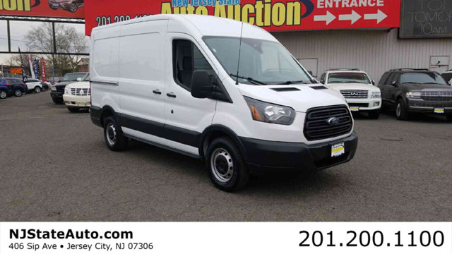 2017 FORD TRANSIT VAN T-150 130 MED RF 8600 GVWR SLID CARFAX One-Owner Clean CARFAX Oxford Whit