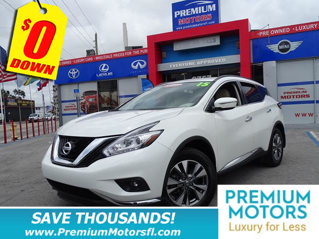 2015 NISSAN MURANO SV NISSAN FOR LESS LOADED At Premium Motors we have relationships w