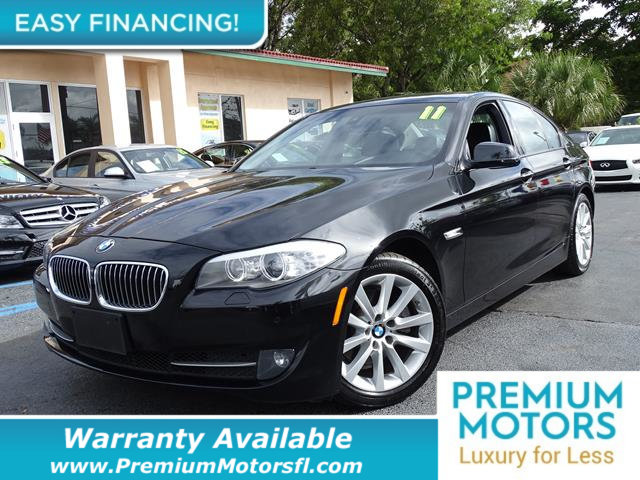 2011 BMW 5 SERIES 528I LOADED CERTIFIED WE SAVE YOU THOUSANDS Dont Pay Retail Get low monthl
