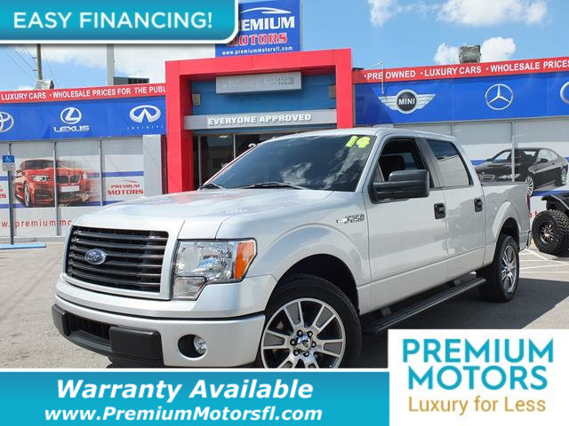 2014 FORD F-150  LOADED CERTIFIED FACTORY WARRANTY Fully serviced just sign and drive Dont P