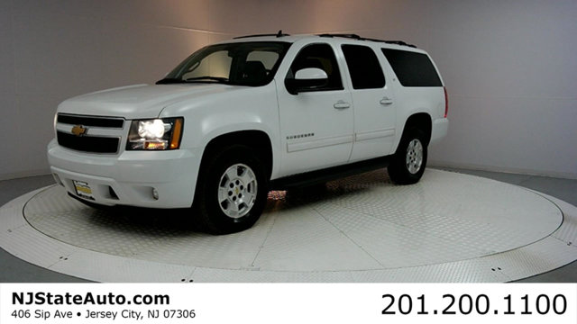 2012 CHEVROLET SUBURBAN 4WD 4DR 1500 LT Summit White 2012 Chevrolet Suburban 1500 LT 4WD 6-Speed A