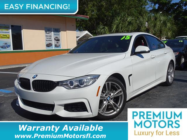 2015 BMW 4 SERIES  LOADED CERTIFIED WARRANTY Dont Pay Retail Get low monthly payments on this