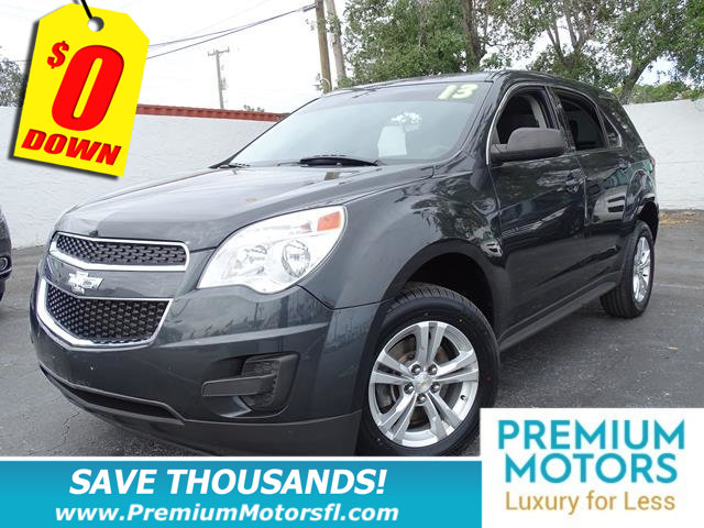 2013 CHEVROLET EQUINOX FWD 4DR LS HUGE SALE SAVE THOUSANDS At Premium Motors