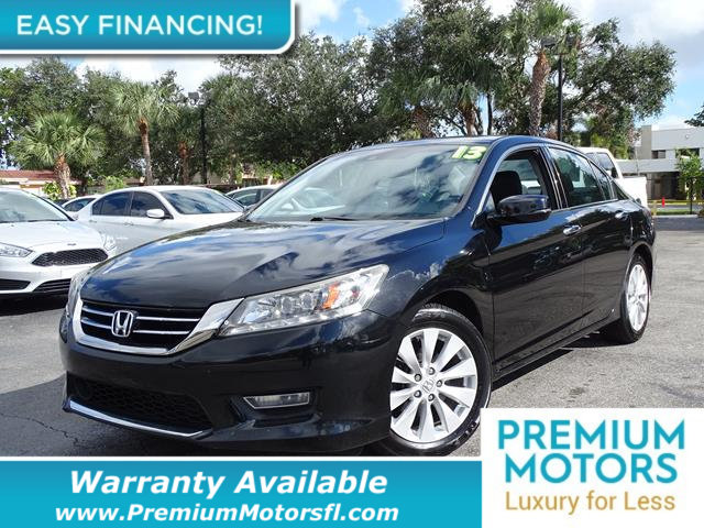 2013 HONDA ACCORD SEDAN 4DR V6 AUTOMATIC TOURING LOADED CERTIFIED WARRANTY Dont Pay Retail Ge