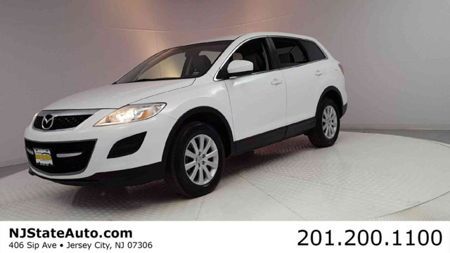2010 MAZDA CX-9 AWD 4DR TOURING Clean CARFAX Crystal White Pearl 2010 Mazda CX-9 Touring AWD 6-Sp