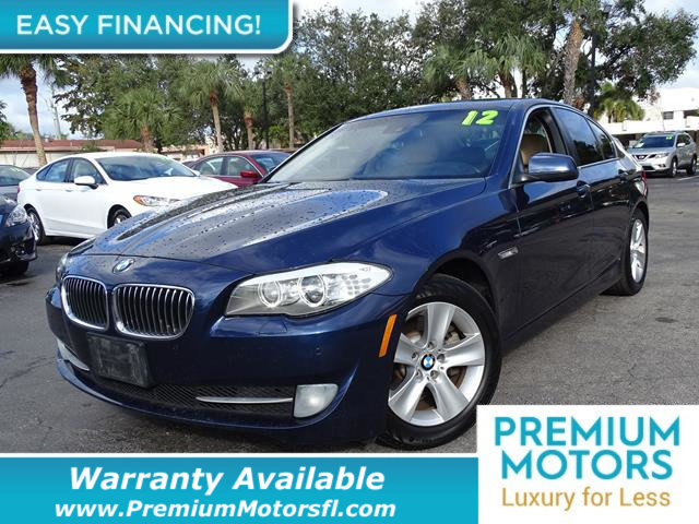 2012 BMW 5 SERIES 528I LOADED CERTIFIED WE SAVE YOU THOUSANDS Fully serviced just sign and dri