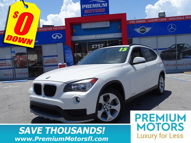 2015 BMW X1 SDRIVE28I BMW FOR LESS FACTORY WARRANTY At Premium Motors