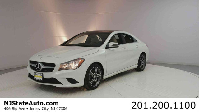 2014 MERCEDES CLA 4DR SEDAN CLA 250 4MATIC CARFAX One-Owner Cirrus White 2014 Mercedes-Benz CLA C