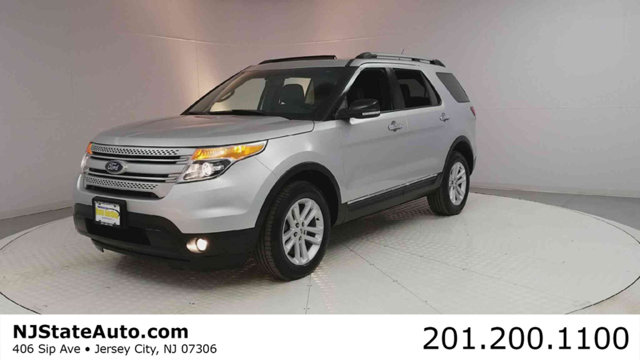 2015 FORD EXPLORER 4WD 4DR XLT CARFAX One-Owner Clean CARFAX Ingot Silver 2015 Ford Explorer XLT