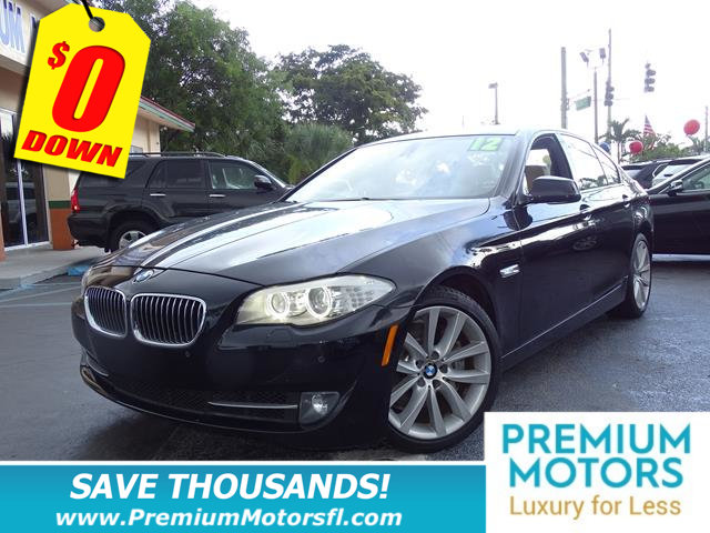 2012 BMW 5 SERIES 535I LOADED WITH VALUE Comes equipped with Air Conditioning Sunroof This BMW