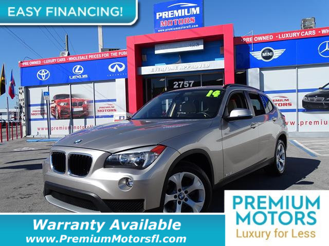 2014 BMW X1 SDRIVE28I LOADED CERTIFIED WE SAVE YOU THOUSANDS Fully serviced just sign and driv