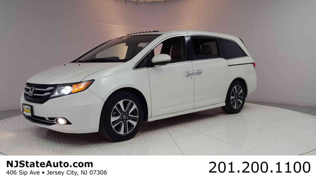 2015 HONDA ODYSSEY 5DR TOURING ELITE CARFAX One-Owner Diamond White Pearl 2015 Honda Odyssey Touri