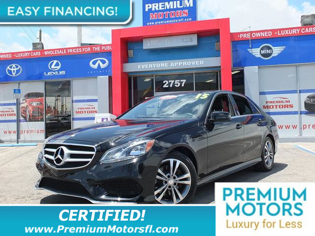 2015 MERCEDES E-CLASS 4DR SEDAN E 350 SPORT RWD LOADED CERTIFIEDFACTORY WARRANTY Fully ser