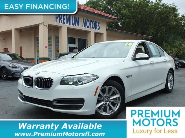 2014 BMW 5 SERIES 528I LOADED CERTIFIED WE SAVE YOU THOUSANDS Fully service