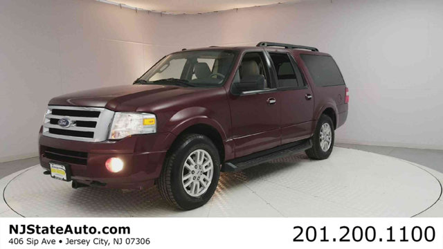 2012 FORD EXPEDITION EL 4WD 4DR XLT Autumn Red Metallic 2012 Ford Expedition EL XLT 4WD 6-Speed Au