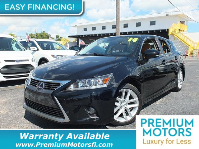 2014 LEXUS CT 200H 5DR SEDAN HYBRID LOADED CERTIFIED WE SAVE YOU THOUSANDS Fully serviced just