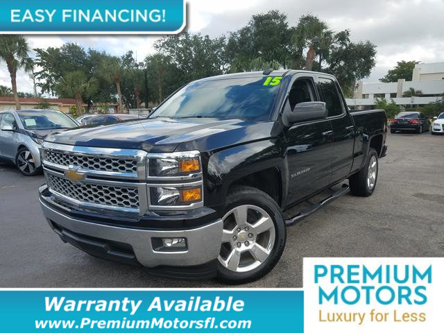 2015 CHEVROLET SILVERADO 1500 LT LOADED CERTIFIED WARRANTY Dont Pay Retail Get low monthly pa