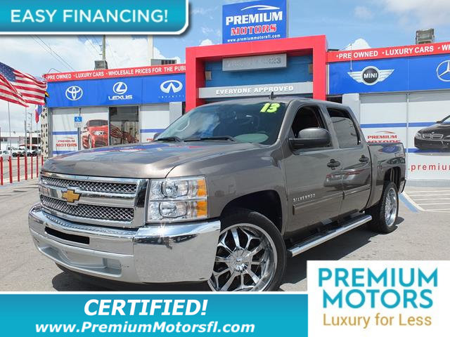 2013 CHEVROLET SILVERADO 1500 2WD CREW CAB 1435 LS LOADED CERTIFIED WE SAVE YOU THOUSANDS