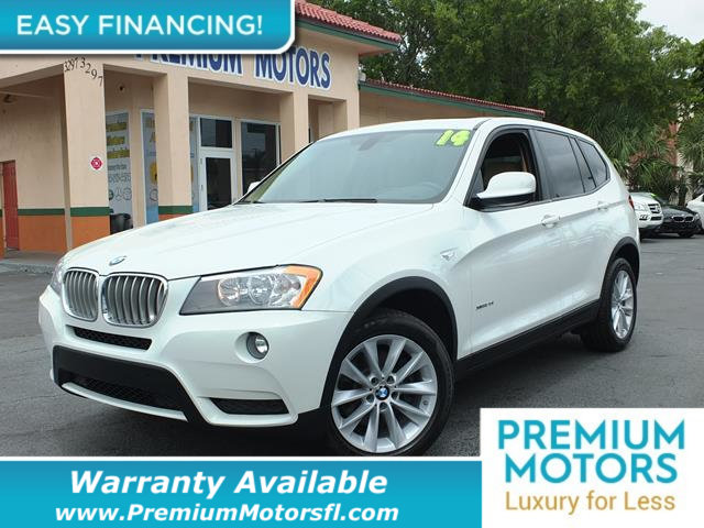 2014 BMW X3 X3 XDRIVE28I CARFAX One-Owner Clean CARFAX Alpine White 2014 BMW X3 xDrive28i 20L I
