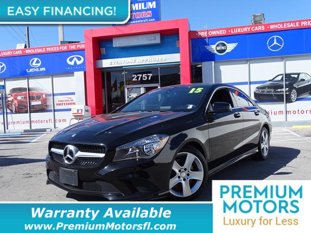 2015 MERCEDES CLA 4DR SEDAN CLA 250 4MATIC LOADED CERTIFIED FACTORY WARRANTY Fully serviced ju