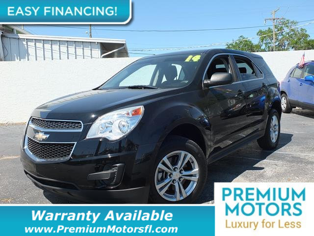 2014 CHEVROLET EQUINOX FWD 4DR LS LOADED CERTIFIED FACTORY WARRANTY Fully serviced just sign a