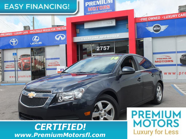 2014 CHEVROLET CRUZE 4DR SEDAN AUTOMATIC 1LT LOADED CERTIFIED WE SAVE YOU THOUSANDS Fully servi