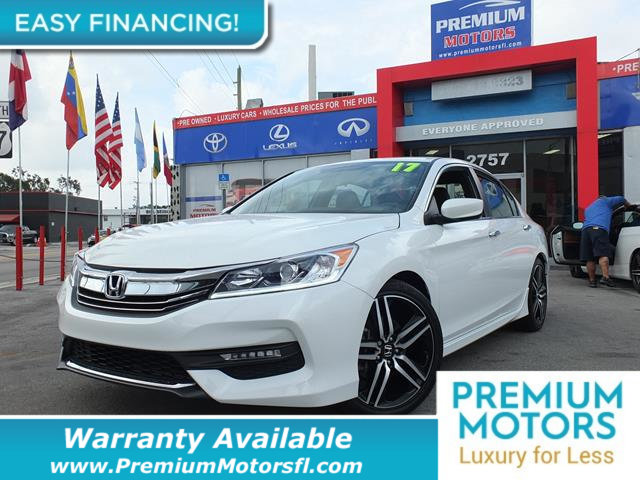 2017 HONDA ACCORD SEDAN SPORT CVT LOADED CERTIFIED WE SAVE YOU THOUSANDS Dont Pay Retail Get