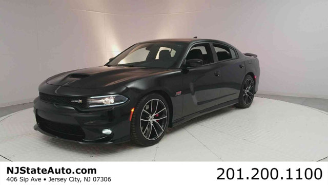 2017 DODGE CHARGER RT SCAT PACK RWD CARFAX One-Owner Clean CARFAX Pitch Black Clearcoat 2017 Do