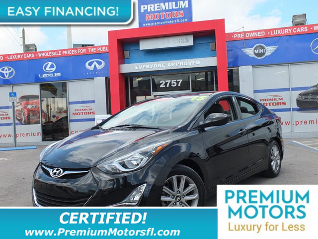 2015 HYUNDAI ELANTRA  LOADED CERTIFIEDFACTORY WARRANTY Fully serviced just sign and drive