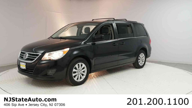 2012 VOLKSWAGEN ROUTAN 4DR WAGON SE WRSE  NAVIGATION CARFAX One-Owner Clean CARFAX Black Metal