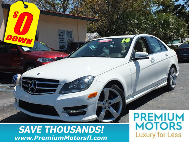 2014 MERCEDES C-CLASS 4DR SEDAN C 350 SPORT RWD MERCEDES FOR LESS SAVE THOUSA