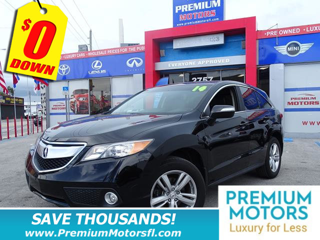 2014 ACURA RDX FWD 4DR TECH PKG LOADED  FACTORY WARRANTY At Premium Motors we have relation