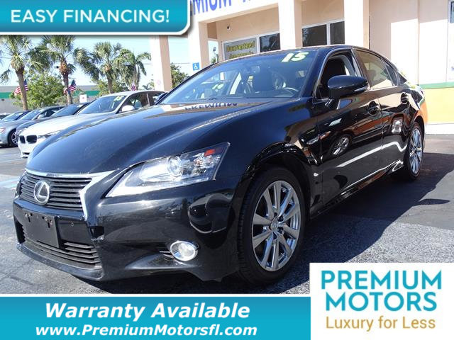 2015 LEXUS GS 350  LOADED CERTIFIED WE SAVE YOU THOUSANDS  Dont Pay Retail Get low monthly p