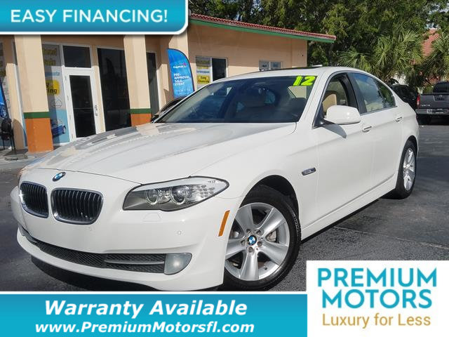 2012 BMW 5 SERIES 528I LOADED CERTIFIED WARRANTY Dont Pay Retail Get low monthly payments on