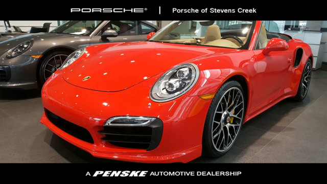 2015 PORSCHE 911 2DR CABRIOLET TURBO S VERY RARE 911 TURBO S CABRIOLETCARFAX One-Owner2015 Porsc