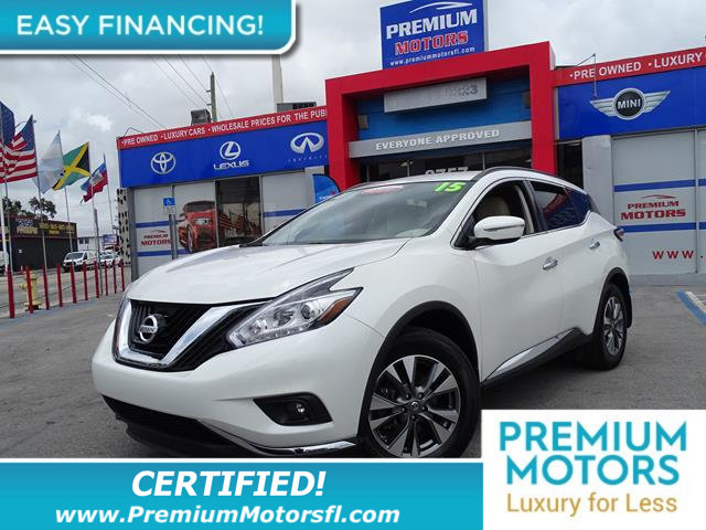 2015 NISSAN MURANO SV LOADED CERTIFIEDFACTORY WARRANTY Fully serviced just sign and drive