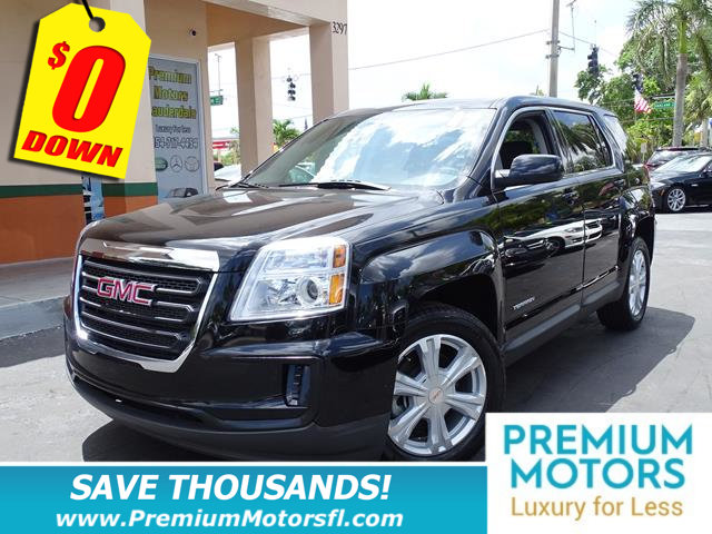 2017 GMC TERRAIN FWD 4DR SLE WSLE-1 LOADED  FACTORY WARRANTY At Premium Motors we have rel