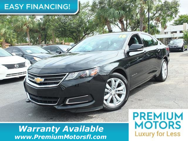 2016 CHEVROLET IMPALA 4DR SEDAN LT W1LT LOADED CERTIFIED WARRANTY Dont Pay Retail Get low mo