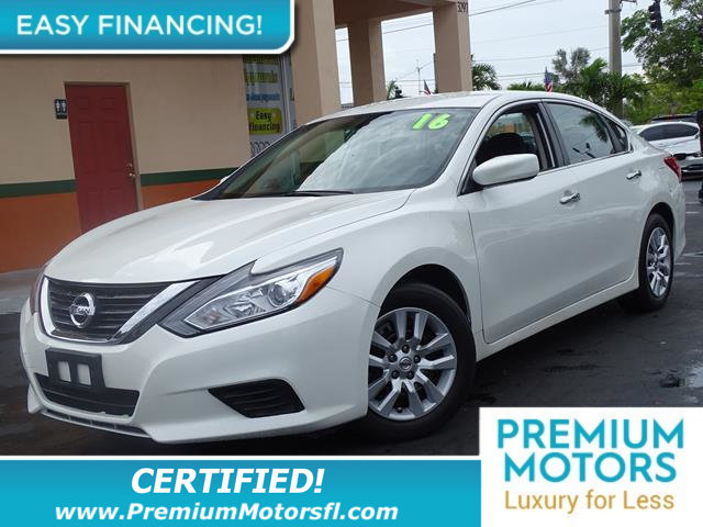 2016 NISSAN ALTIMA 4DR SEDAN I4 25 LOADED CERTIFIEDFACTORY WARRANTY Fully serviced just