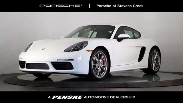 2018 PORSCHE 718 CAYMAN S COUPE LOADED WITH VALUE Comes equipped with 14-Way Power Sport Seats