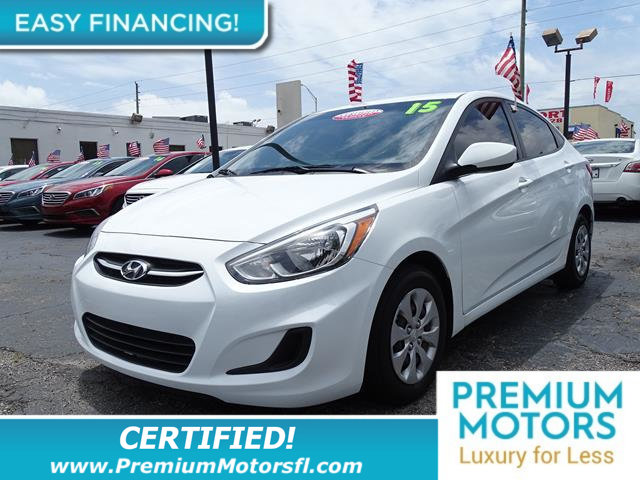 2015 HYUNDAI ACCENT GLS LOADED CERTIFIED WE SAVE YOU THOUSANDS Fully serviced just sign and dr