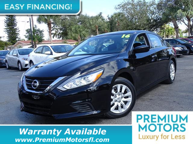 2016 NISSAN ALTIMA  LOADED CERTIFIED WARRANTY Dont Pay Retail Get low monthly payments on thi