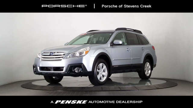 2014 SUBARU OUTBACK 4DR WAGON H4 AUTOMATIC 25I PREM CARFAX One-Owner Clean CARFAX Silver 2014 S