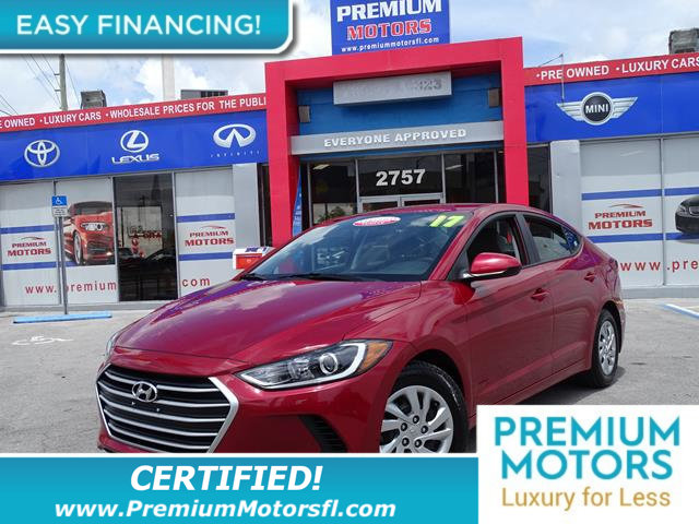 2017 HYUNDAI ELANTRA SE LOADED CERTIFIEDFACTORY WARRANTY Fully serviced just sign and dri