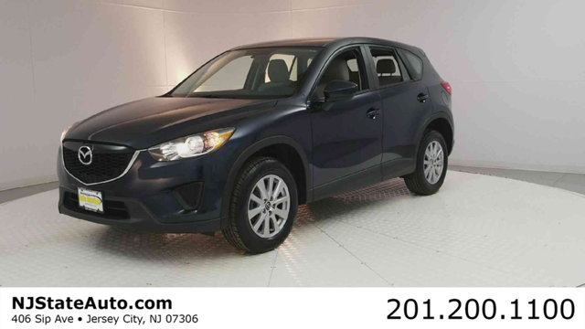 2015 MAZDA CX-5 SPORT CARFAX One-Owner Clean CARFAX Crystal Blue 2015 Mazda CX-5 Sport FWD 6-Spee