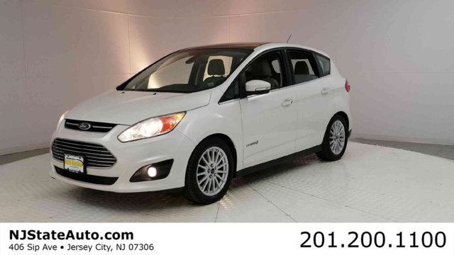 2013 FORD C-MAX HYBRID 5DR HATCHBACK SEL CARFAX One-Owner Clean CARFAX Oxford White 2013 Ford C-