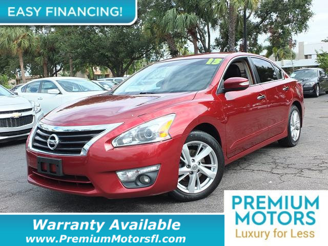 2013 NISSAN ALTIMA  LOADED CERTIFIED WARRANTY Dont Pay Retail Get low monthly payments on thi