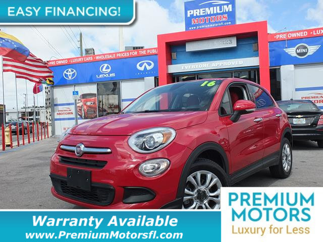 2016 FIAT 500X AWD 4DR EASY LOADED CERTIFIED FACTORY WARRANTY Fully serviced just sign and dri